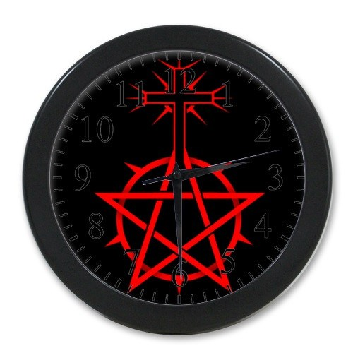 Supernatural Pentacle Wall Clock - Clock - Supernatural-Sickness - 1