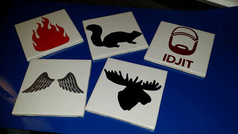 Supernatural Coasters - Set of 5 - Coasters - Supernatural-Sickness - 1