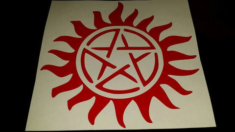 Anti-Possession Decal - Decal - Supernatural-Sickness - 1