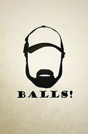 "Bobby Singer Decal. ""Balls!"" - Decal - Supernatural-Sickness"