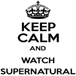 Keep Calm and Watch Supernatural Decal - Decal - Supernatural-Sickness