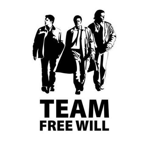 Team Free Will Decal - Decal - Supernatural-Sickness