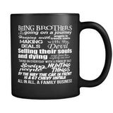 Being Brothers - Mug - Drinkware - Supernatural-Sickness - 1