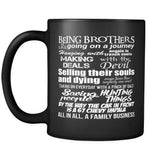 Being Brothers - Mug - Drinkware - Supernatural-Sickness - 2