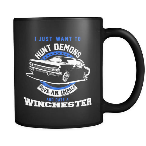 Hunt Demons - Mug - Drinkware - Supernatural-Sickness - 1