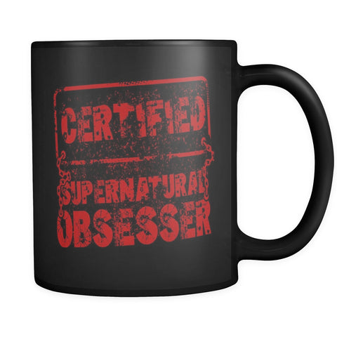 Supernatural Obsesser Mug - Drinkware - Supernatural-Sickness - 1