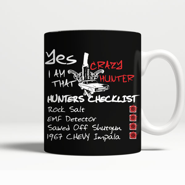 Crazy Hunter - Mug - Drinkwear - Supernatural-Sickness - 1