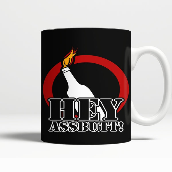 Hey Assbutt - Mug - Drinkwear - Supernatural-Sickness - 1
