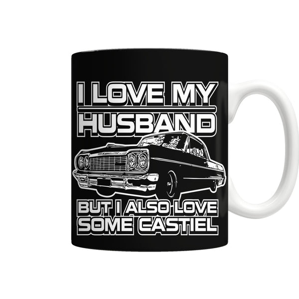 I Also Love Some Castiel - Mug - Drinkwear - Supernatural-Sickness - 1