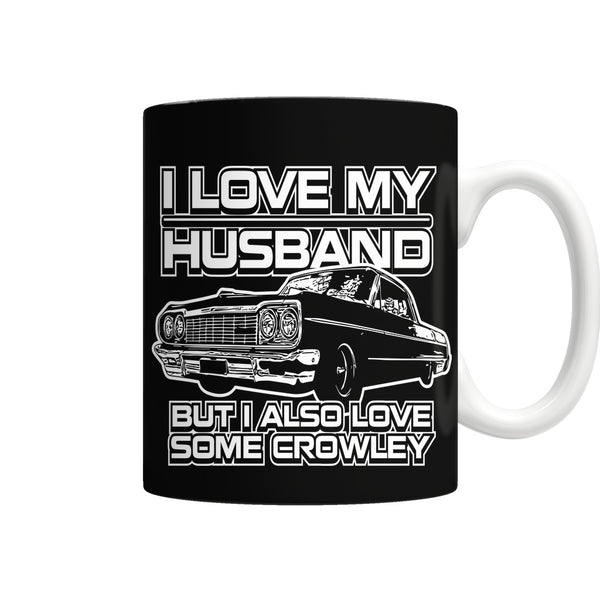 I Also Love Some Crowley - Mug - Drinkwear - Supernatural-Sickness - 1