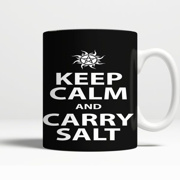 Keep Calm And Carry Salt - Mug - Drinkwear - Supernatural-Sickness - 1