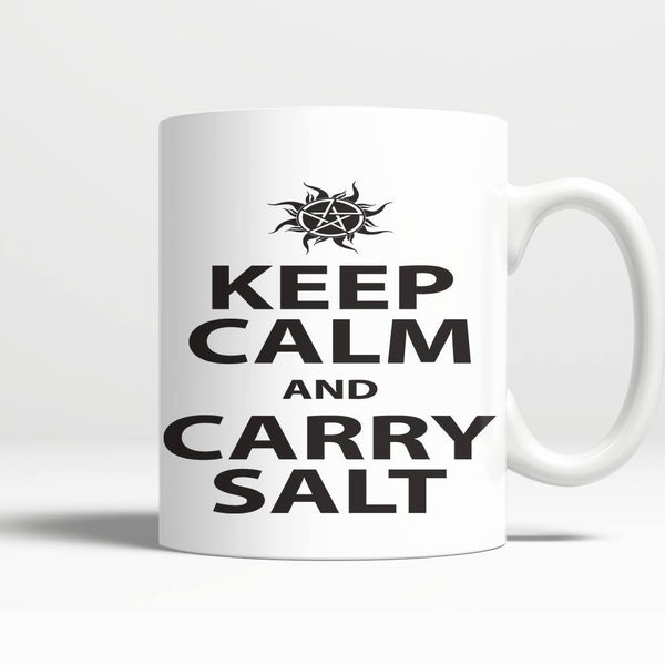 Keep Calm And Carry Salt - Mug - Drinkwear - Supernatural-Sickness - 3