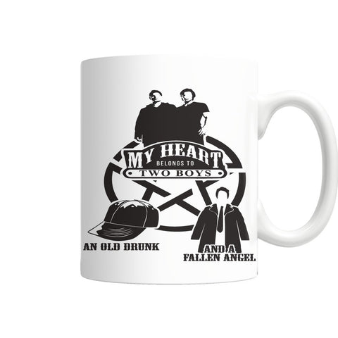 My Heart - Mug - Drinkwear - Supernatural-Sickness - 1