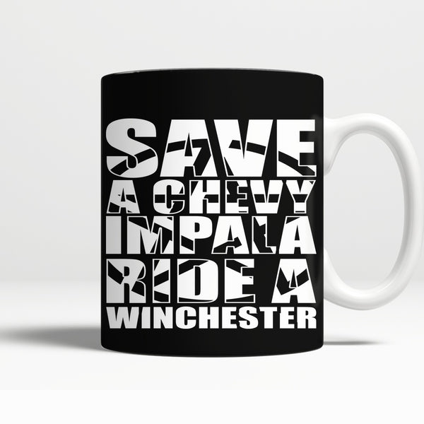 Save A Chevy Impala - Mug - Drinkwear - Supernatural-Sickness - 1
