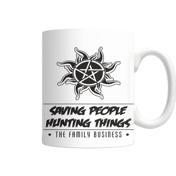 Saving People Hunting Things - Mug - Drinkwear - Supernatural-Sickness - 4