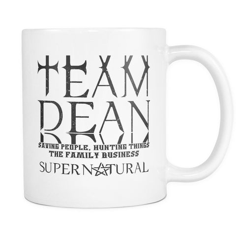 Team Dean - Mug - Drinkwear - Supernatural-Sickness - 1