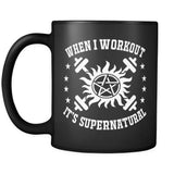 When I Workout - Mug - Drinkwear - Supernatural-Sickness - 2