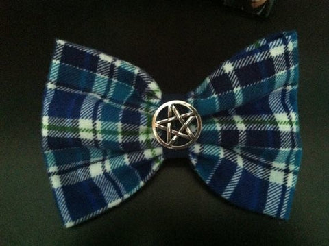 Supernatural Sam Winchester Inspired Hair Bow- Plaid - Hair Bow - Supernatural-Sickness - 2