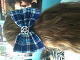 Supernatural Sam Winchester Inspired Hair Bow- Plaid - Hair Bow - Supernatural-Sickness - 3