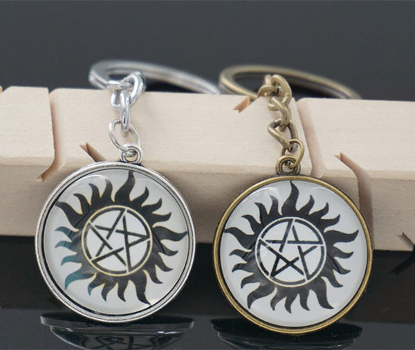 Supernatural Anti Possession Keychain (Free Shipping) - Keychain - Supernatural-Sickness - 1