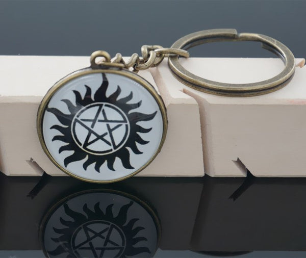 Supernatural Anti Possession Keychain (Free Shipping) - Keychain - Supernatural-Sickness - 4