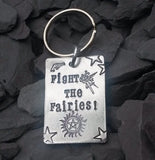 Supernatural 'Fight the Fairies!' Keychain - Keychain - Supernatural-Sickness - 1