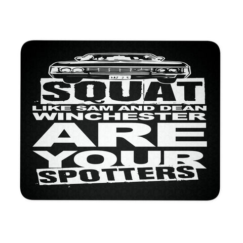 Are your Spotters - Mousepad - Mousepads - Supernatural-Sickness - 1