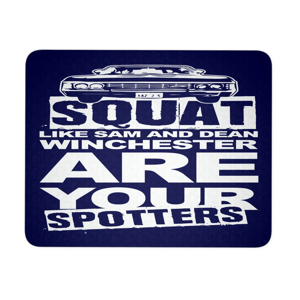 Are your Spotters - Mousepad - Mousepads - Supernatural-Sickness - 2