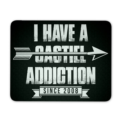 Castiel Addiction - Mousepad - Mousepads - Supernatural-Sickness