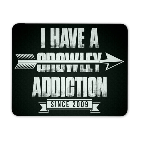 Crowley Addiction - Mousepad - Mousepads - Supernatural-Sickness
