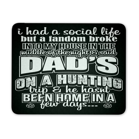 Dads on a Hunting - Mousepad - Mousepads - Supernatural-Sickness