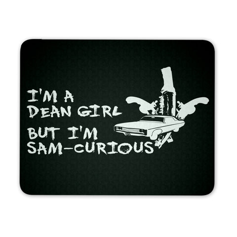 Dean Girl - Mousepad - Mousepads - Supernatural-Sickness
