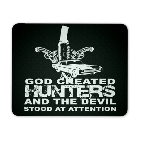 God created Hunters - Mousepad - Mousepads - Supernatural-Sickness