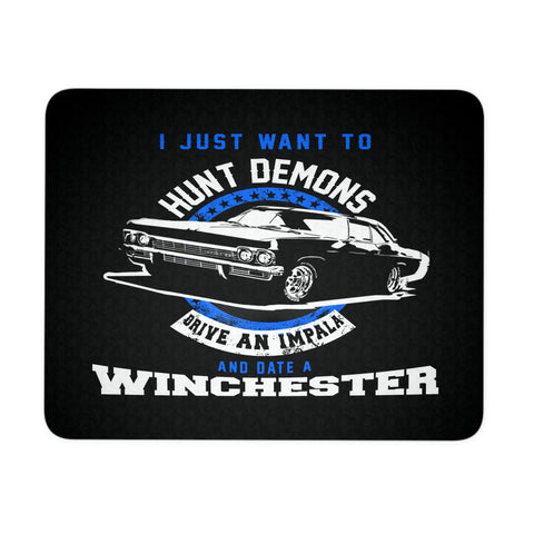 Hunt Demons - Mousepad - Mousepads - Supernatural-Sickness - 1