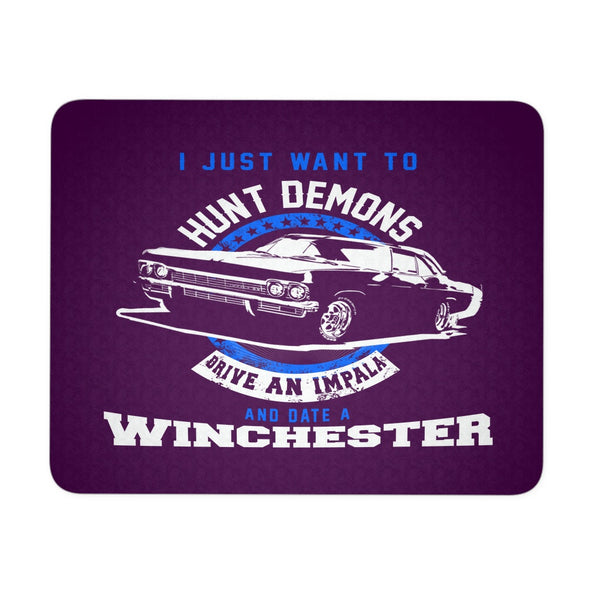 Hunt Demons - Mousepad - Mousepads - Supernatural-Sickness - 3