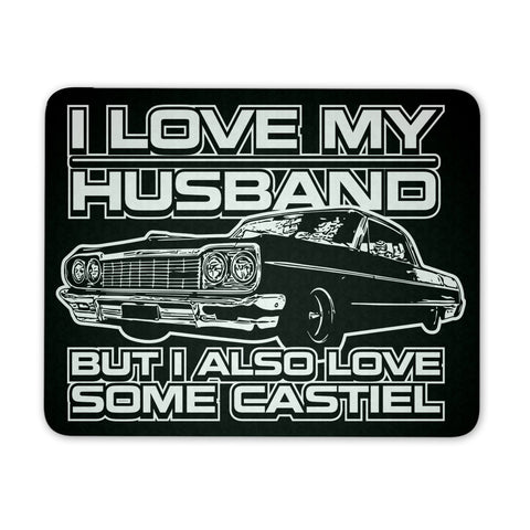 I Also Love Some Castiel - Mousepad - Mousepads - Supernatural-Sickness