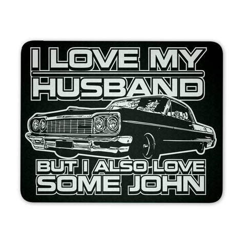 I Also Love Some John - Mousepad - Mousepads - Supernatural-Sickness