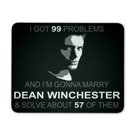 Im Gonna Marry Dean - Mousepad - Mousepads - Supernatural-Sickness