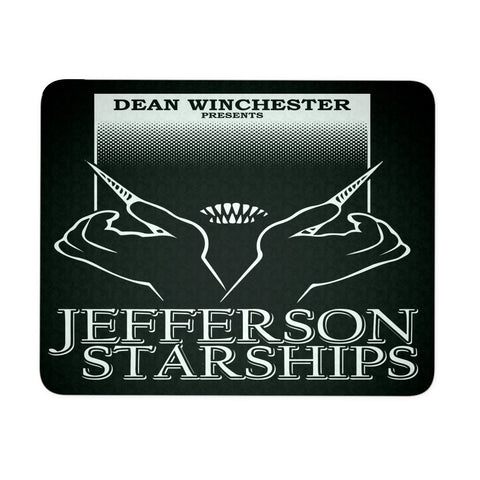 Jefferson Starships - Mousepad - Mousepads - Supernatural-Sickness