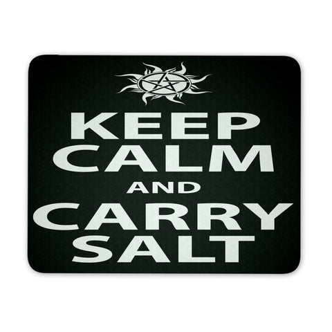 Keep Calm And Carry Salt - Mousepad - Mousepads - Supernatural-Sickness