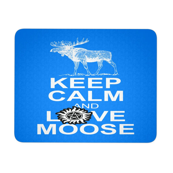 Keep Calm And Love Moose Mousepad - Mousepads - Supernatural-Sickness - 2