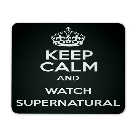 Keep Calm and watch Supernatural - Mousepad - Mousepads - Supernatural-Sickness