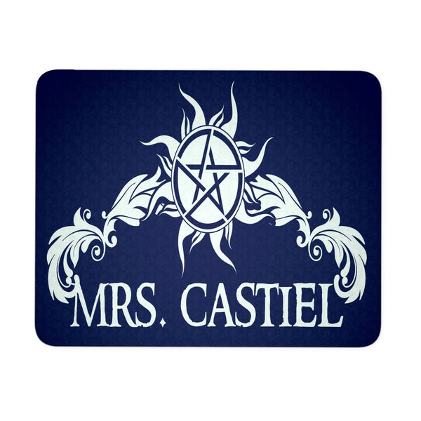 Mrs. Castiel - Mousepad - Mousepads - Supernatural-Sickness - 1