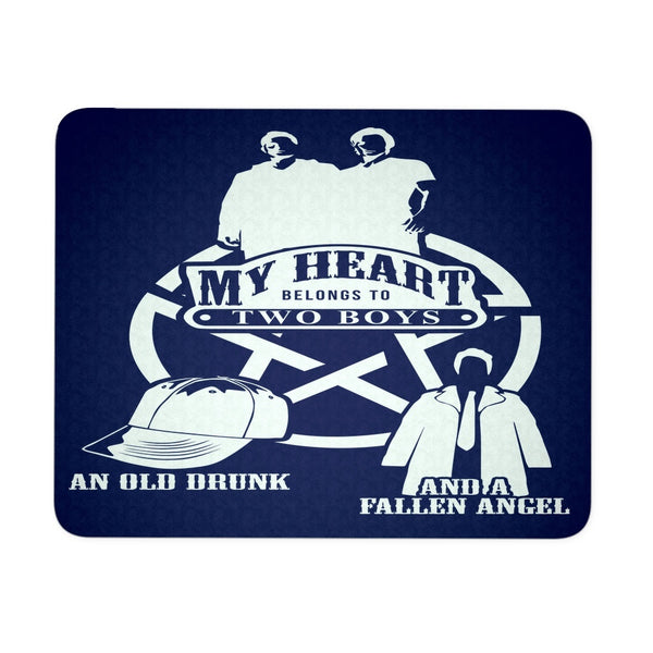 My Heart - Mousepad - Mousepads - Supernatural-Sickness - 1