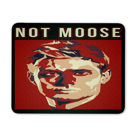Not Moose - Mousepad - Mousepads - Supernatural-Sickness