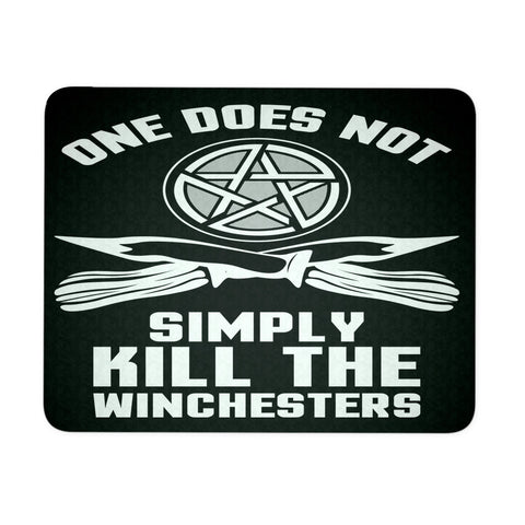 One Does Not Simply Kill The Winchesters - Mousepad - Mousepads - Supernatural-Sickness