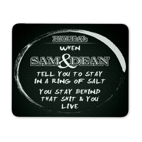Sam & Dean - Mousepad - Mousepads - Supernatural-Sickness