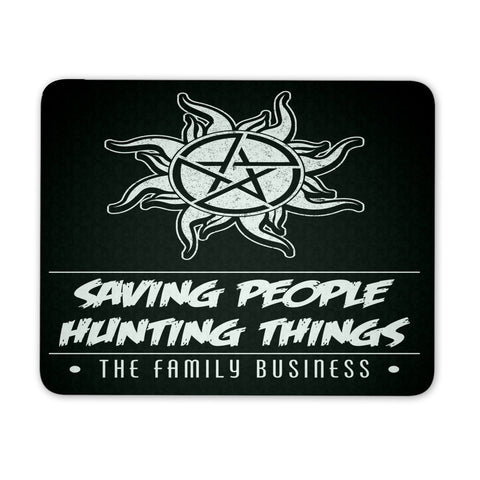 Saving People Hunting Things - Mousepad - Mousepads - Supernatural-Sickness