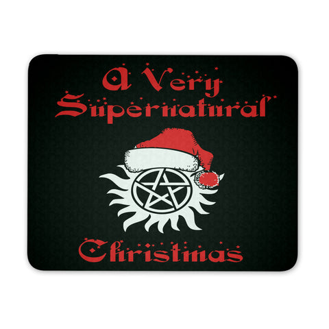 Supernatural Christmas - Mousepad - Mousepads - Supernatural-Sickness