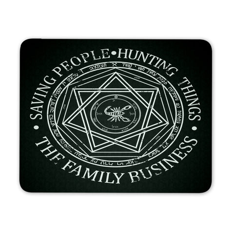 The Family Business - Mousepad - Mousepads - Supernatural-Sickness